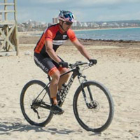 Riding your mountain bike in unstable conditions