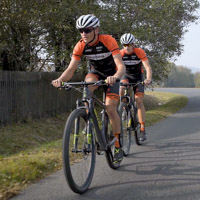 The weekly cycling training schedule